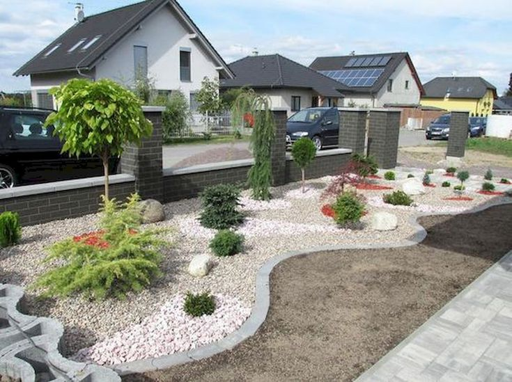 90 simple and beautiful front yard landscaping ideas on a budget  51