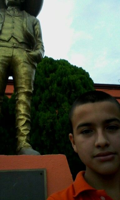 Estatua de Emiliano Zapata, en el Museo Agrarismo Mexicano Av. Lucio Blanco, H. Matamoros, Tamaulipas