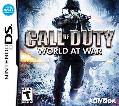 *NEW* Call of Duty World at War - Nintendo DS