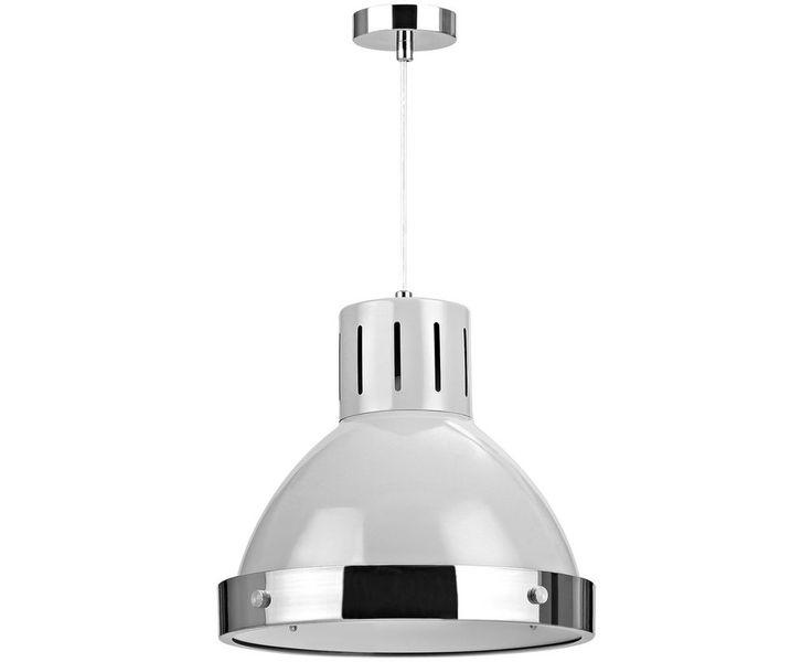 Ceiling Light Shade Argos : Buy vermont light grey chrome pendant at argos