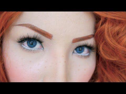 Princess Merida Makeup Tutorial by promise phan YouTube beauty guru AMAZING