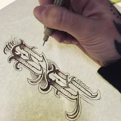 True Life: I'm a white girl that loves gangster lettering. #drawing #sketch #penandink #lettering #letterhead #tattoolettering #sepiapens #tattooapprentice #theangelrose