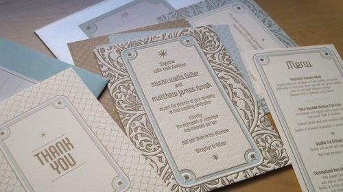 art deco invite: Art Deco Wedding Invitations, Wedding Ideas, Weddings, Art Deco Invitations, Wedding Stationary, Garden Parties, Garden Party Wedding
