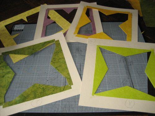 La photo fait 13 cm de côté. L'ensemble devra s'insérer dans un cadre de 30x30 cm. Une réhausse est réalisée dans du carton plume de 5 mm d'épaisseur et 30 cm de côté. Au milieu on découpe la fenêtre image. Avant de recouvrir de papier fantaisie le carton...