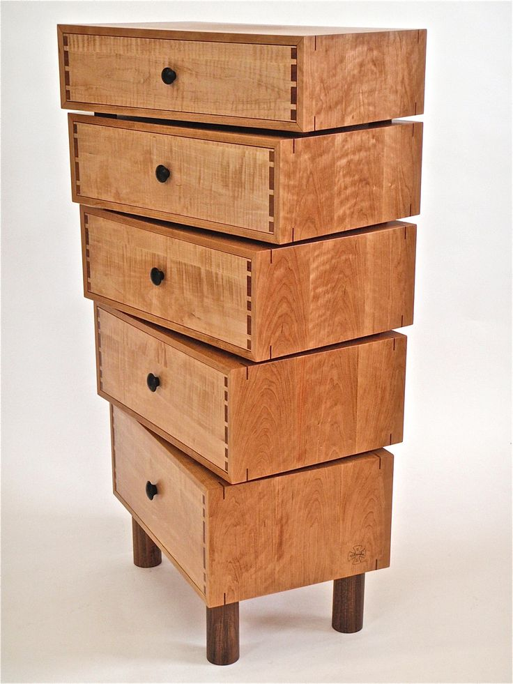 Stacked Box Dresser By Todd Bradlee. 2014 NICHE Awards Winner / Furniture:  Cabinetry