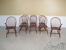 34971:Set Of 8 Bob Timberlake Windsor Style Hoop Back Dining Room Chairs |  Windsor F.C., Room And Furniture Styles Part 55