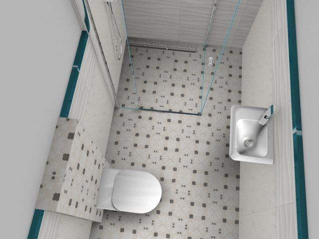 small white bathroom, interior design