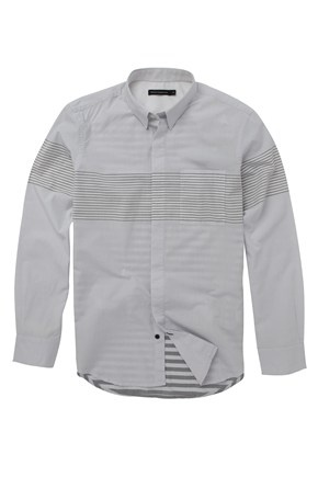 Lemore Engineered Shirt - Mens Shirts - French Connection