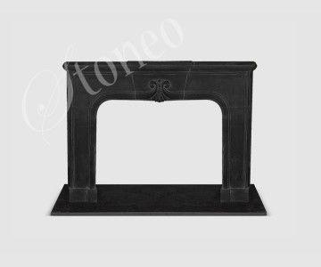 Ceremonial - Kominek klasyczny, marmur QY Black