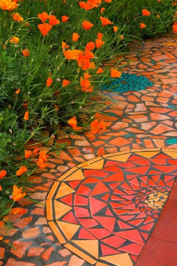 Mosaic Path, Kathy Richardson Designsmaker from Los Altos, CA