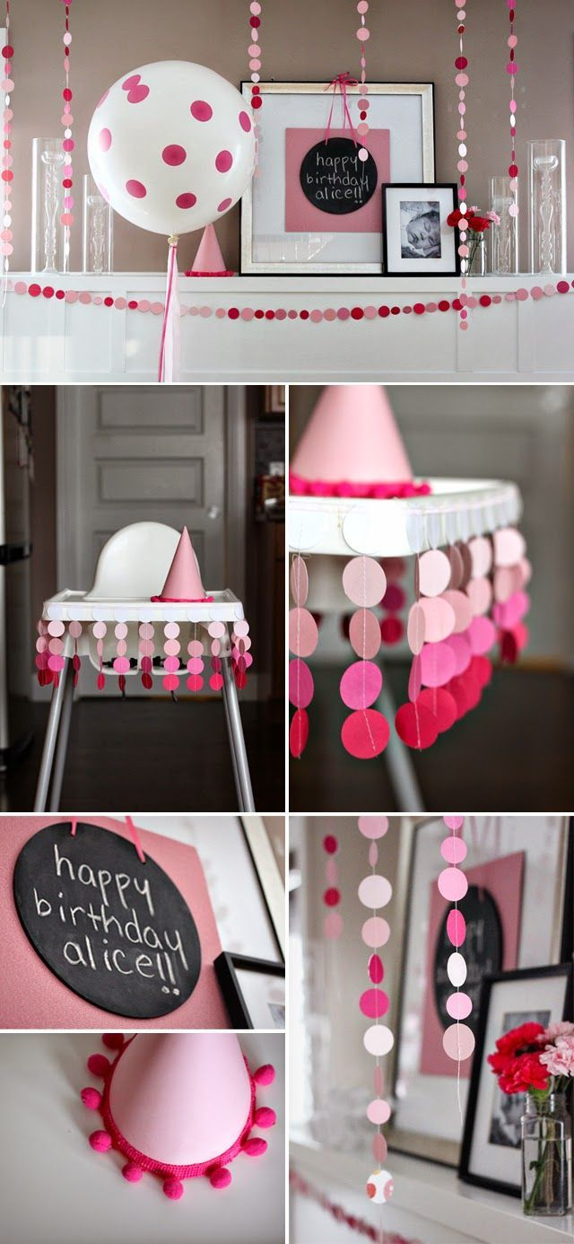34 Creative Girl First Birthday Party Themes & Ideas - My Little Moppet