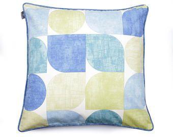 Blue Pillow Handmade Pillow Designer Pillow High Quality Pillow Bedding Decor Pillow Pillowcase Pillow Cushion -    Edit Listing  - Etsy