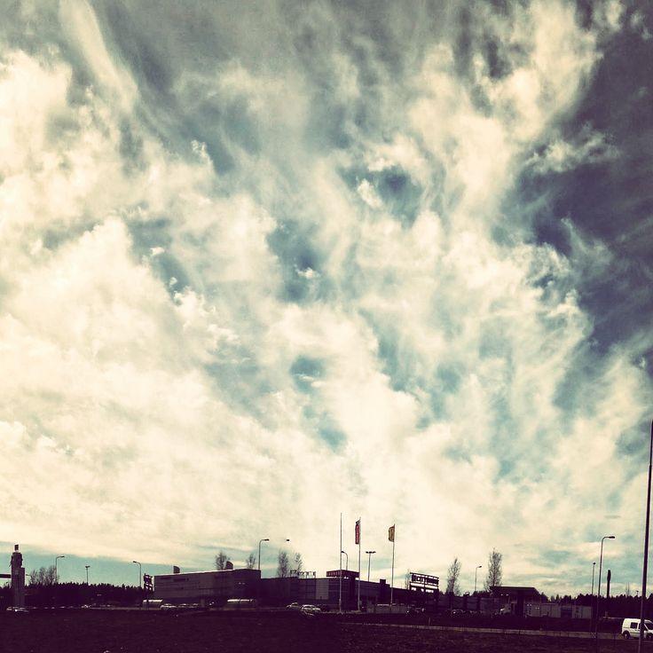 #pilvisyyttä