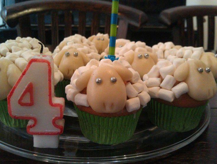 sheep muffin