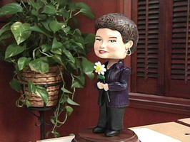 Make your own custom bobblehead! Uses common craft supplies and household tools. What a fun project or personalized gift...