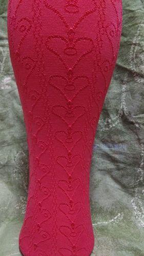 Mønstret tights til barn, flott farge og god passform.