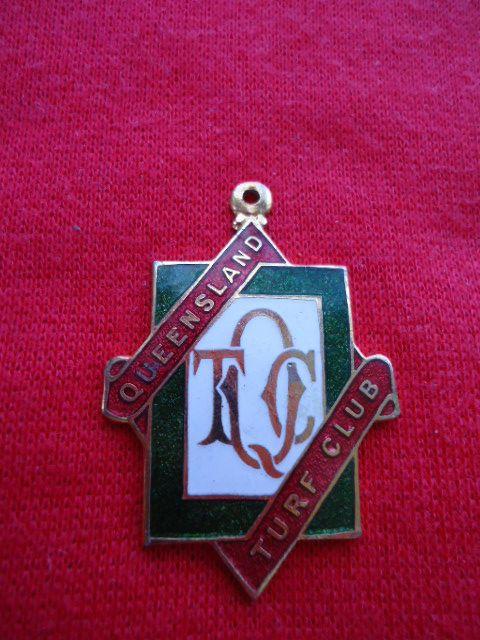 1961 62 Queensland Turf Club Racing Membership Badge | eBay