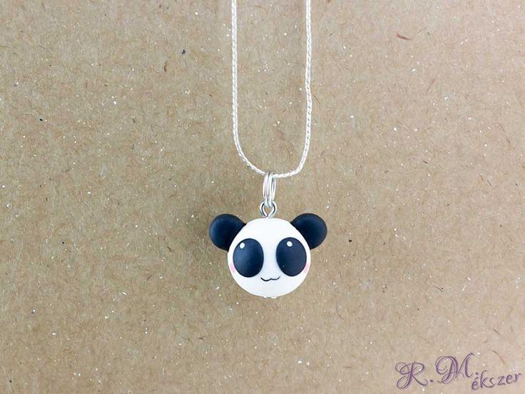 Gyurma panda medál