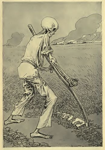 World War One – Cartoons – The Harvest Is Ripe – Raemaeker