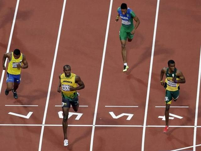 South Africa's Anaso Jobodwana runs personal best to secure automatic spot in the 200M final alongside Usain Bolt   .