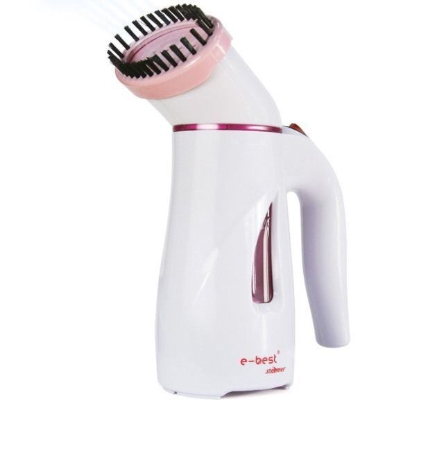 E Best Garment Steamer with Brush and Travel Bag Pink | eBay