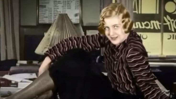 Eva Braun at 19 shortly before she was introduced to Adolf Hitler. The rest became history.