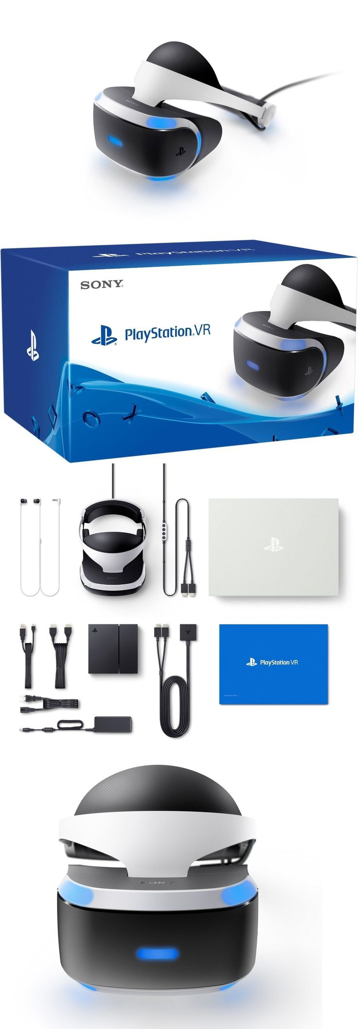PC and Console VR Headsets: Brand New Sony Playstation Vr Headset Ps4 Virtual Reality Psvr Realistic Gaming -> BUY IT NOW ONLY: $315.99 on eBay!