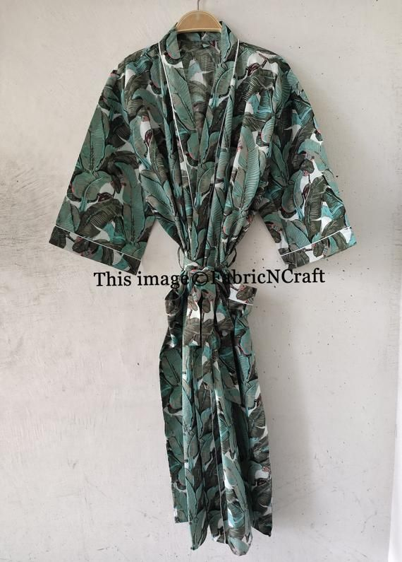 Ethnic Long Cover Up Pregnancy Bathrobe Beautiful Handmade Indian Silk Sari Kimono Beach Bikini Kaftan Dress Hippie Bohemian Sari Night Gown