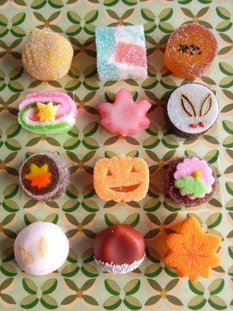 Japanese sweets / 花の宵(hananoyoi)