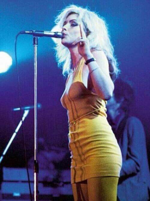 Debbie Harry,my first aspect of female goddess energy,she has all the power and confidence of females who stand proud
