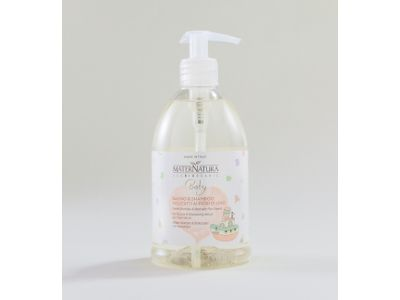 MaterNatura Baby Bagno & Shampoo ai Fiori di Lino: delicatissimo