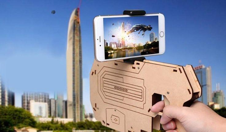 #Realidad_aumentada #juegos AR Gun, una pistola para juegos de Realidad Aumentada