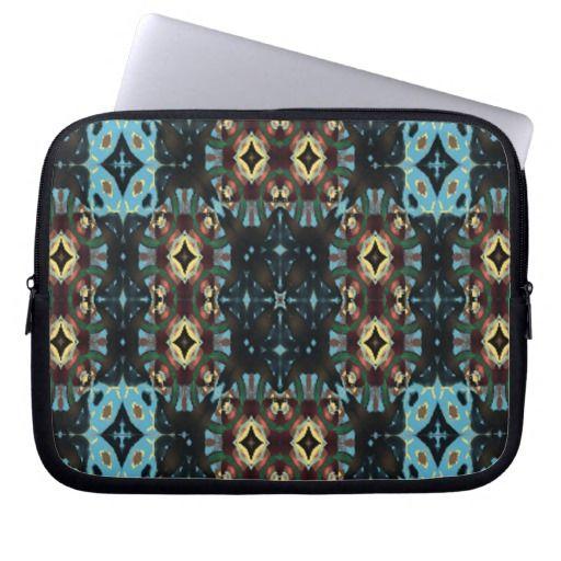 Modern cool pattern laptop computer sleeves