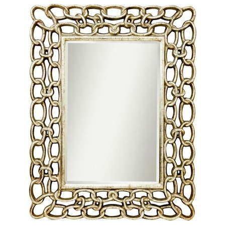 I pinned this Kichler Link Mirror from the Honey We're Home event at Joss and Main!