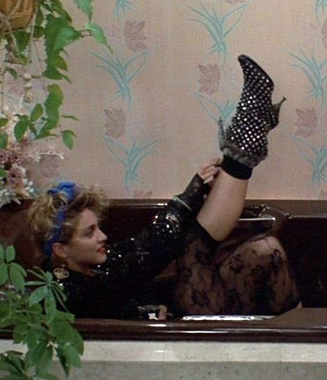 Madonna's 80's  Desperately Seeking Susan boots and 80's styles