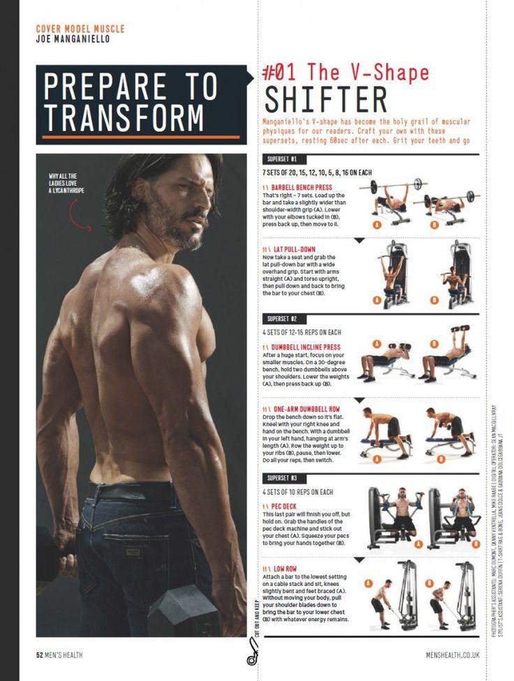 Joe Manganiello Shares Workout Tips for Mens Health UK September 2014 Cover Story image Joe Manganiello Workout 001 800x1060