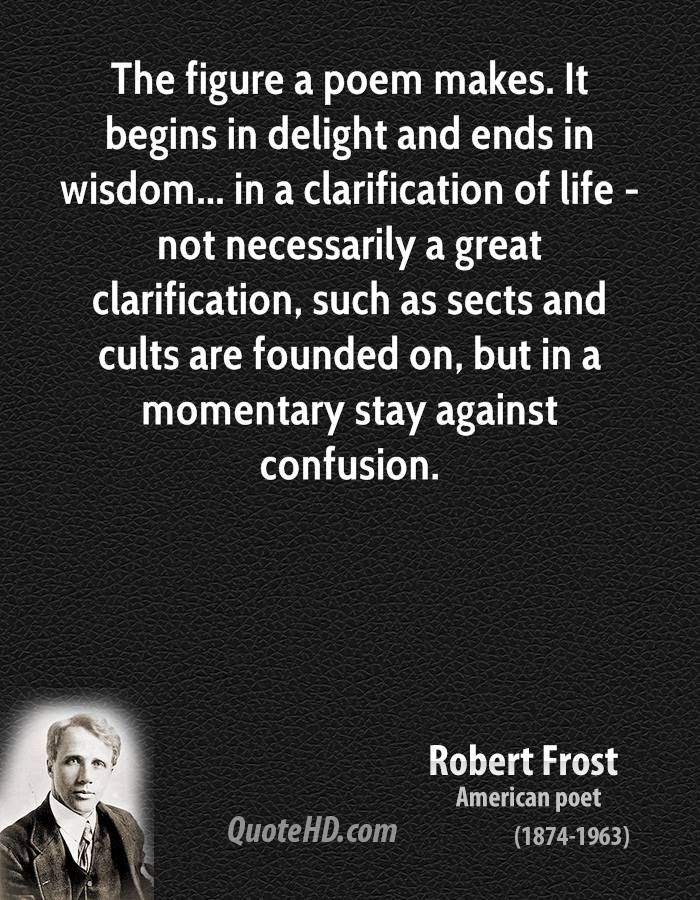 Robert Frost Wisdom Quotes | QuoteHD