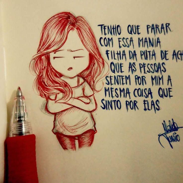 Tony ✌ Minha tag compartilhe por favor #1garotosolitario Outras tags #umgarotosolitario #desenhosd - garoto.solitario