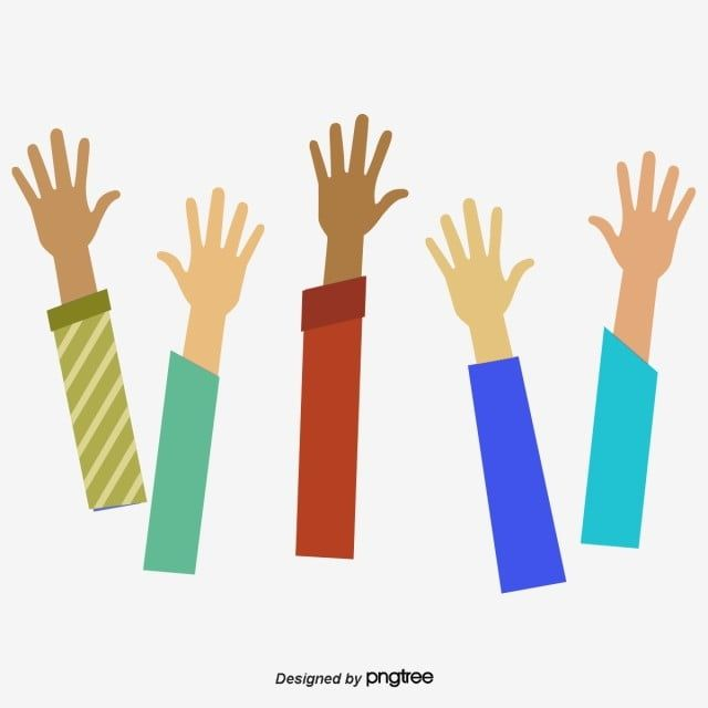 Everybody Stretched Out His Hand Vector Png Raise Your Hands Raise Your Hand Png Transparent Clipart Image And Psd File For Free Download Hand Sticker Art Wallpaper Hand Clipart
