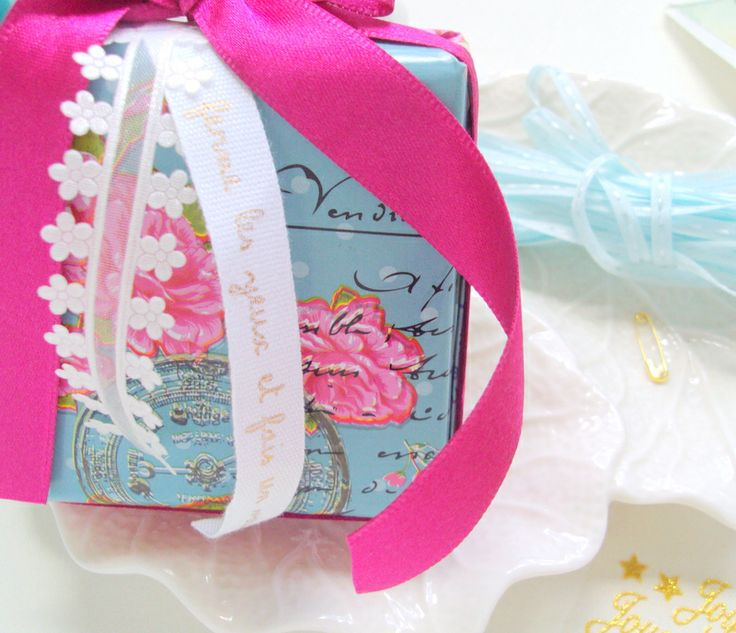 Le Paquet: Embalagem romântica