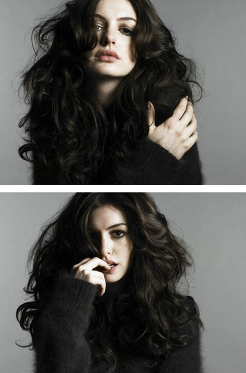 Two of the most beautiful images I have seen of Anne Hathaway.