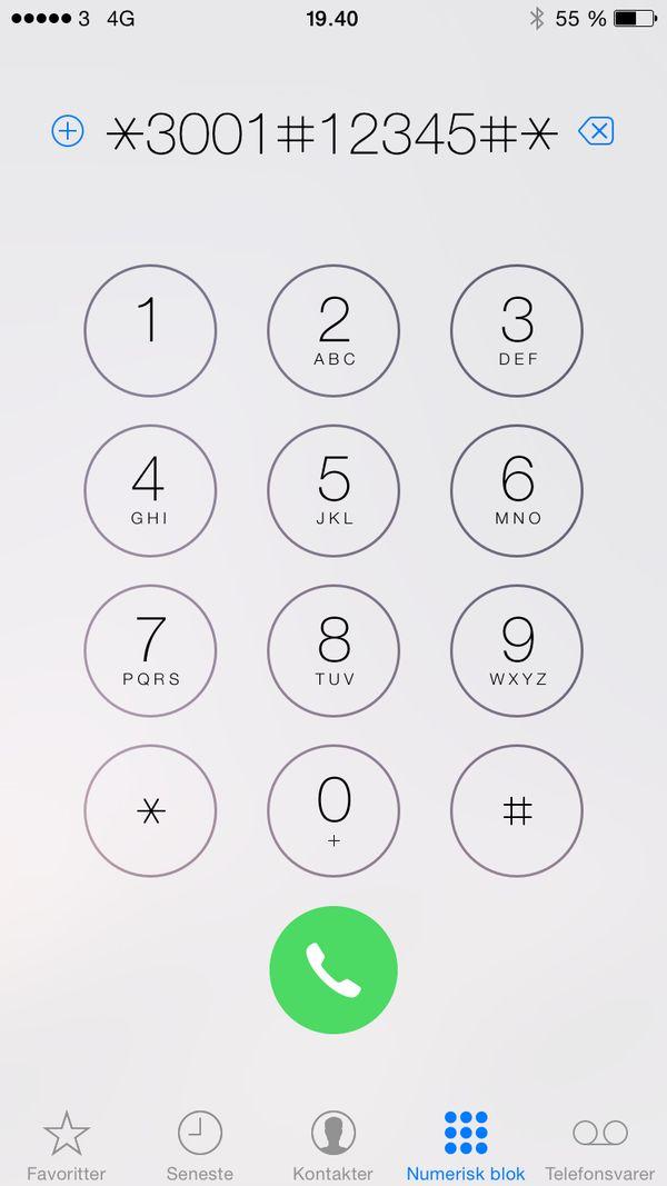 Hemmelig menu i din iPhone giver dig mere præcist overblik over for eksempel signalstyrken