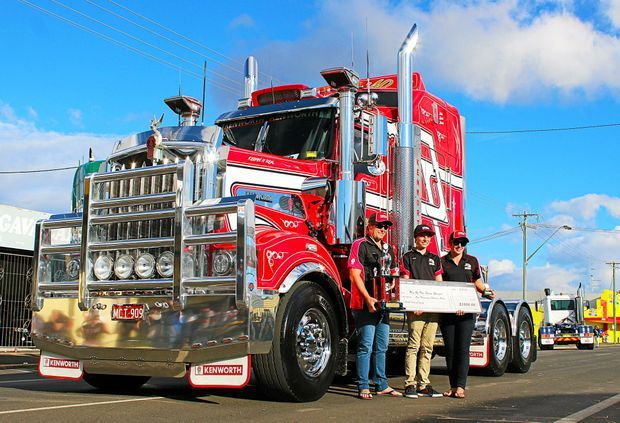 Trucks a plenty at the North Coast Petroleum Casino Truck Show