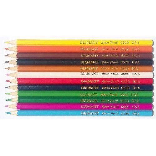 12 darabos, hatszögletű színes ceruza készlet Diamant - Színes ceruzák - 179Ft - Színes ceruza készlet