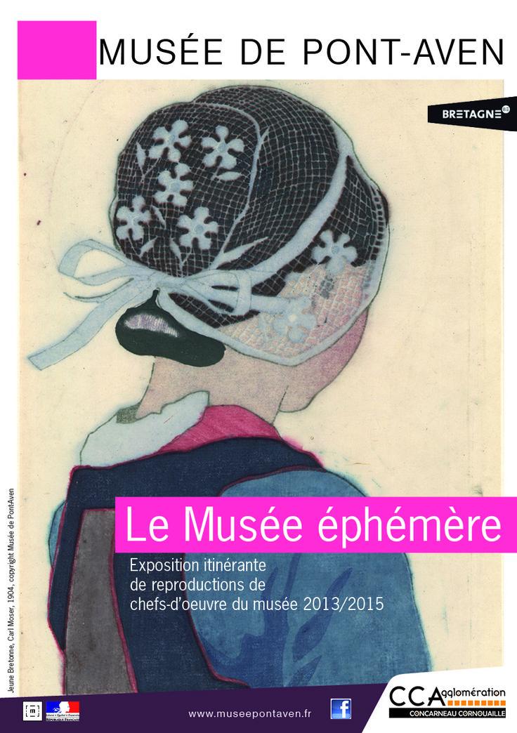Exposition itinérante de reproductions de chefs d'oeuvre du musée de Pont-Aven. 1er mai 2013 au 31 décembre 2014 dans le Finistère.