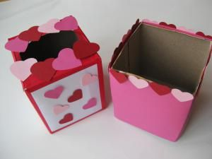 easy and pretty valentine boxes to make with kids learn how to make these super
