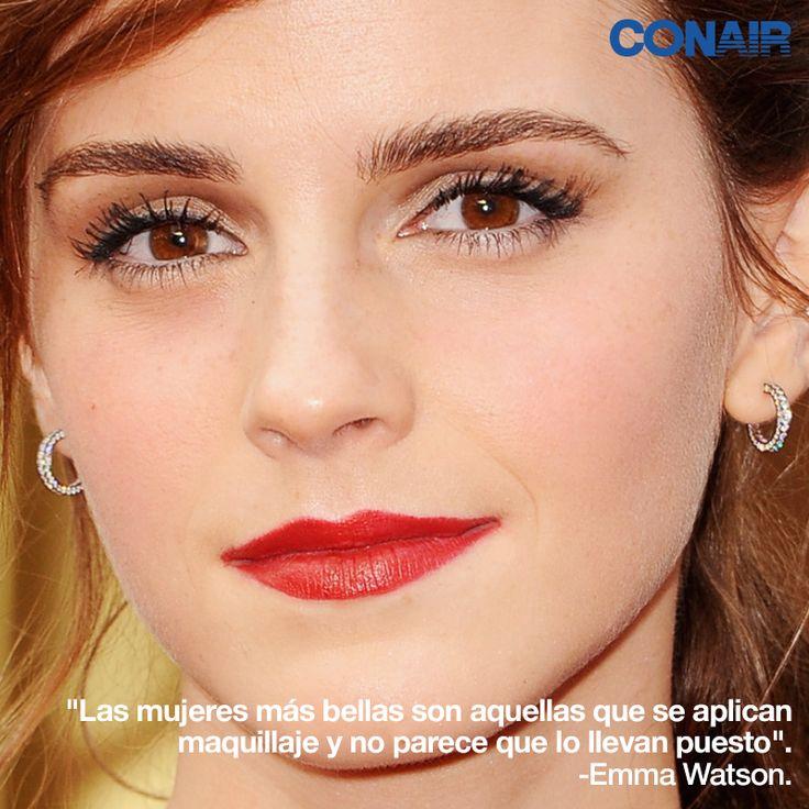 Emma Watson #CONAIRMX #belleza #cabello #2014 #peinado #moda #frases #emmawatson