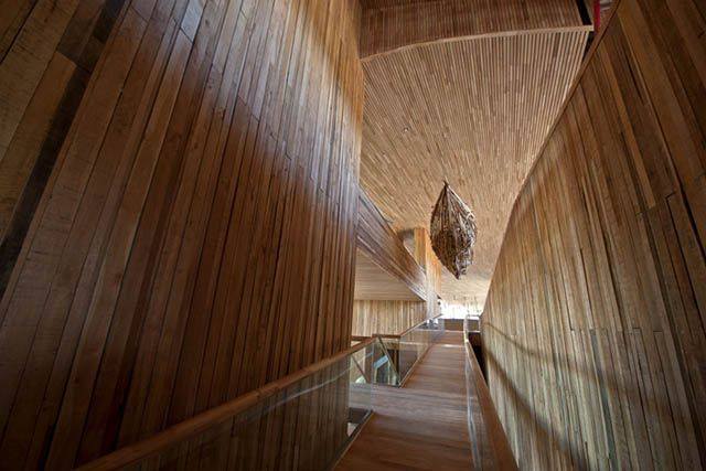 Hotel Tierra Patagonia by Cazu Zegers Arquitectura, Torres del Paine – Chile via Retail Design Blog