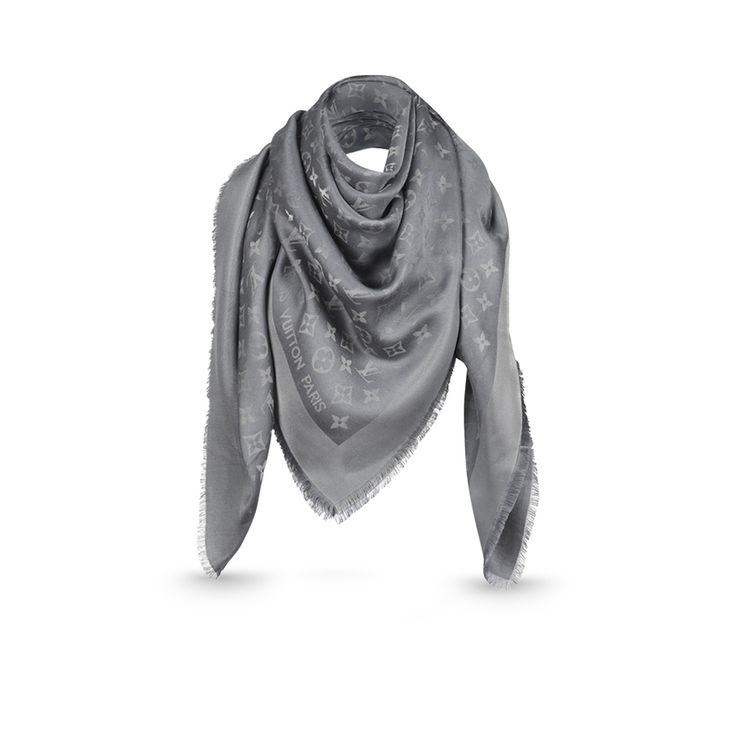 Monogram Shine Shawl via Louis Vuitton