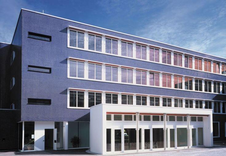 Ceramic tile facade finish - alsecco